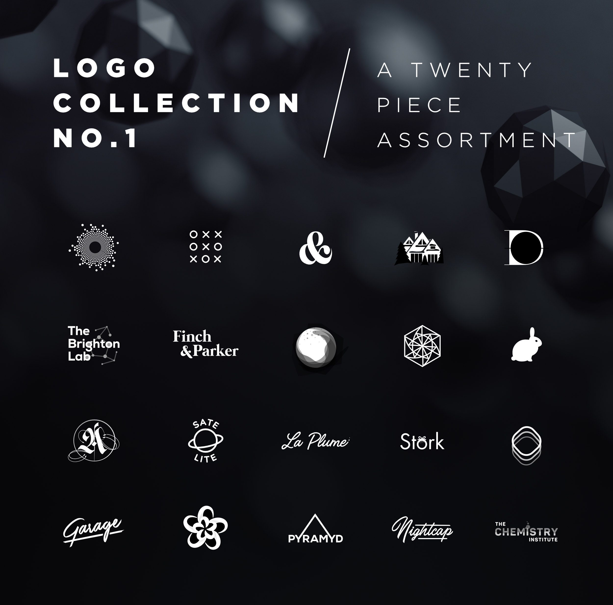 Meg Wehrlen's collection of logos including type based logos, minimal, conceptual, script, custom hand lettering and geometric. Featured on Behance.